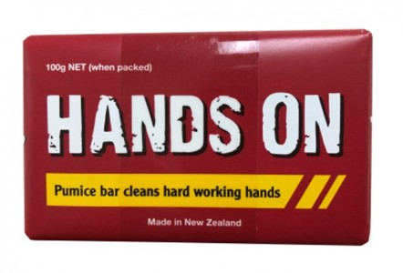 HANDS ON PUMICE BAR 100g TWIN PACK