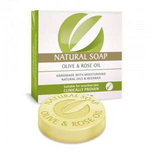 BON OLIVE & ROSE OIL SOAP 115g