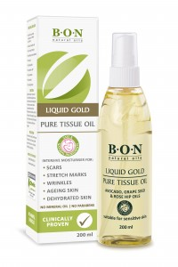 BON LIQUID GOLD - PURE TISSUE OIL 200ml