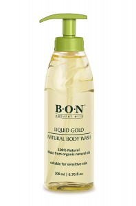BON 100% NATURAL BODY WASH 200ml