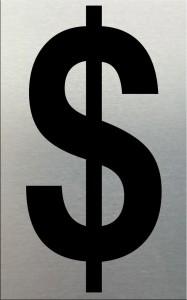 MG2LN $ Black on Silver (50MM)