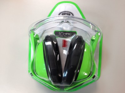REPTILER EYE MUFFS G1 NEON GREEN