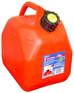 SCEPTER 10L/2.5Gal GAS CAN (self ventin