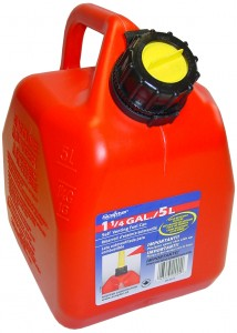 SCEPTER 5L/1.25Gal GAS CAN (self ventin