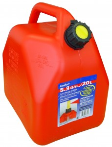 SCEPTER 20L/5.3Gal GAS CAN (SQUAT)
