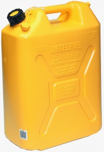 SCEPTER 20L DIESEL CAN YELLOW (JEEP STYLE)