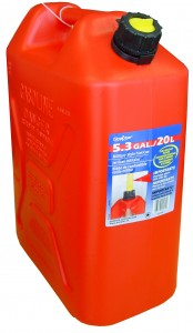 SCEPTER  20L PETROL CAN RED (JEEP STYLE)