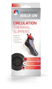 THERMOSKIN CIRCULATION THERMAL SLIPPERS L
