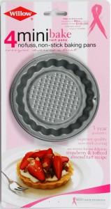 WILLOW NON-STK MINI TART PAN SET 4