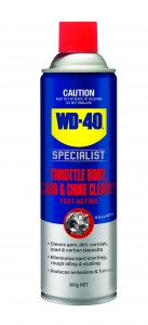 WD-40 SPECIALIST THROTTLE BODY, CARB & CHOKE CLEANER